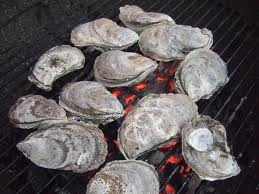 Oysters Roasting